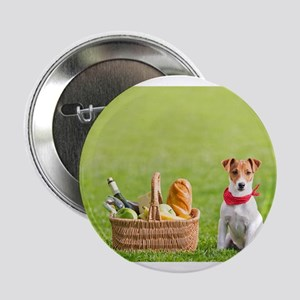 "Jack Russell Picnic 2.25"" Button"