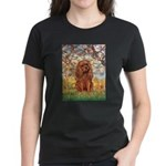 Spring and Ruby Cavalier Women's Dark T-Shirt