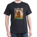 Spring and Ruby Cavalier Dark T-Shirt