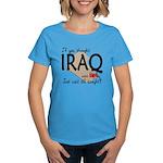 If you thought Iraq was hot Women's Dark T-Shirt