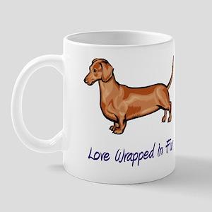 Dachsund - Love Wrapped In Fur Mug
