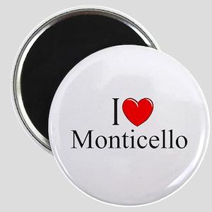 """""""I Love Monticello"""" Magnet"""
