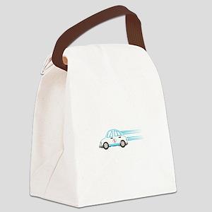 Race Car Beetle Canvas Lunch Bag