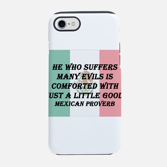 He Who Suffers iPhone 7 Tough Case