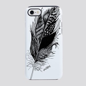 Single Feather iPhone 7 Tough Case