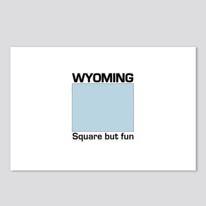 Wyoming -- Square But Fun Postcards (Package of 8)