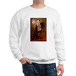 Lincoln's Ruby Cavalier Sweatshirt