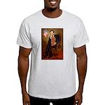 Lincoln's Ruby Cavalier Light T-Shirt