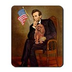 Lincoln's Ruby Cavalier Mousepad