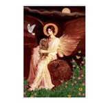 Seated Angel & Ruby Cavalier Postcards (Package of