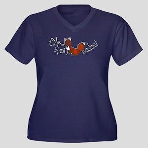 For Fox Sake Plus Size T-Shirt