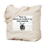 Say It Fast Tote Bag