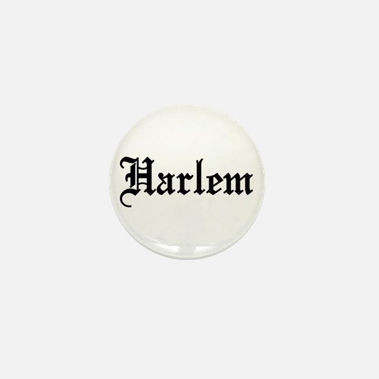 Harlem Mini Button