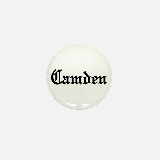 Camden, New Jersey Mini Button
