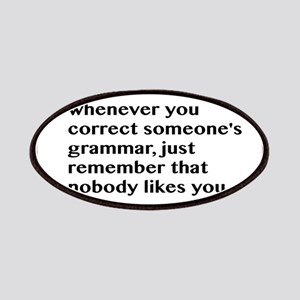 Nobody Likes When You Correct Grammar Patches