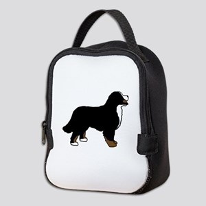 Tri Color Bernese Dog Neoprene Lunch Bag