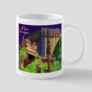 NEON Aladdin Las Vegas Large Mugs