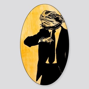 Businessman Fred Sticker (Oval)