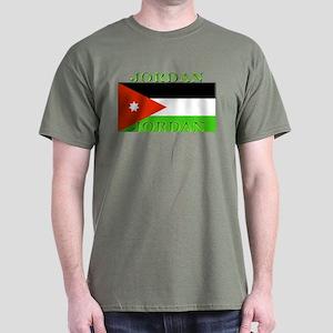 Jordan Jordanian Flag Dark T-Shirt