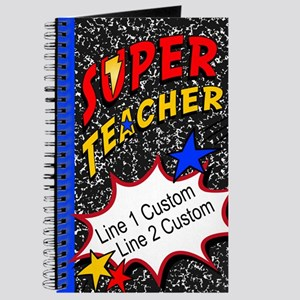 Teacher Super Hero Journal