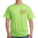 Mummy's Little Monster (boy) Green T-Shirt