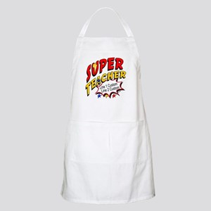 Teacher Super Hero Apron