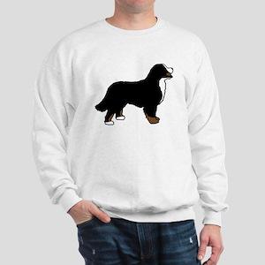 Tri Color Bernese Dog Sweatshirt