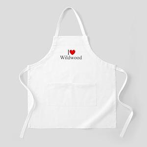 """I Love Wildwood"" BBQ Apron"