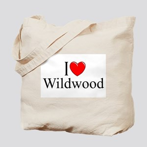 """I Love Wildwood"" Tote Bag"