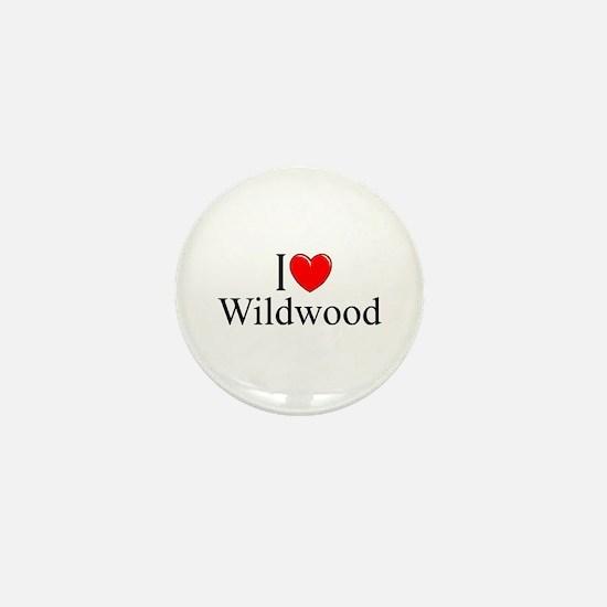 """I Love Wildwood"" Mini Button"