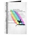 Rainbow Native American Prayer Journal