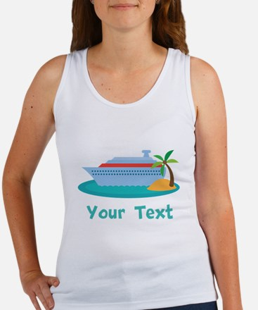 Personalized Cruise Ship Tank Top