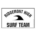 RH Surf Team Rectangle Sticker