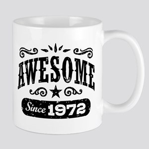 Awesome Since 1972 Mug