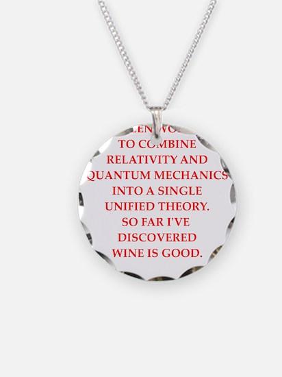 Unique Quantum mechanics Necklace