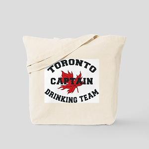 Toronto Drinking Team Captain Tote Bag