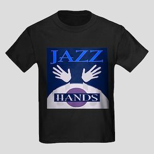 Jazz Hands Kids Dark T-Shirt