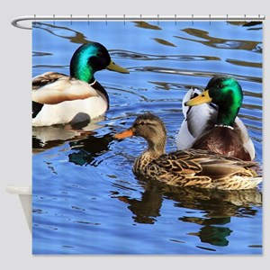 Mallards Shower Curtain