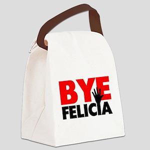 Bye Felicia Hand Wave Canvas Lunch Bag
