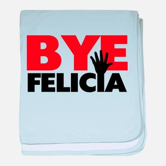 Bye Felicia Hand Wave baby blanket