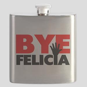 Bye Felicia Hand Wave Flask
