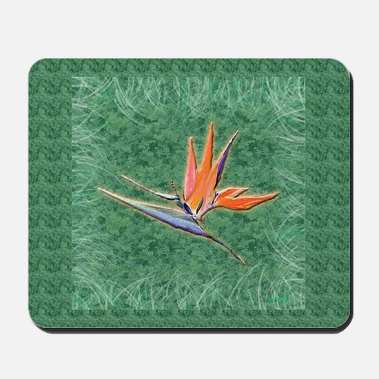 Bird of Paradise Mousepad