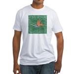 Bird of Paradise Fitted T-shirt (Made in