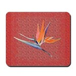 Red Bird of Paradise Mousepad