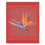 Small Pink Bird of Paradise Poster