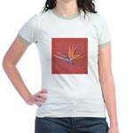 Red Bird of Paradise Women's Ringer