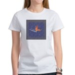 Blue Bird of Paradise Women's T-Shirt