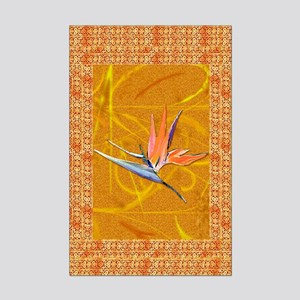Gold Bird of Paradise MiniPoster Print