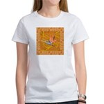 Gold Bird of Paradise Women's T-Shirt