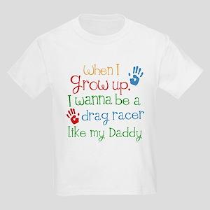 Future Drag Racer Kids Light T-Shirt